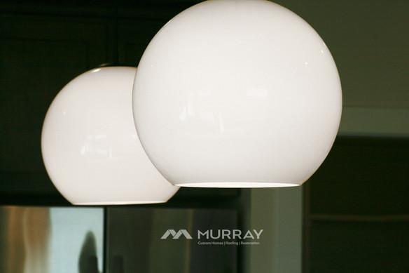 Murray Custom Home Builders Gallery SW Village Heights 6525 Kitchen Lighting Fixture