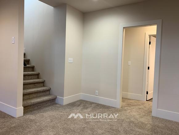 Murray Custom Home Builders Gallery SW Village Heights 6525 Basement