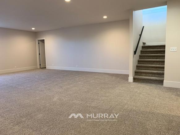 Murray Custom Home Builders Gallery SW Village Heights 6525 Basement Living1
