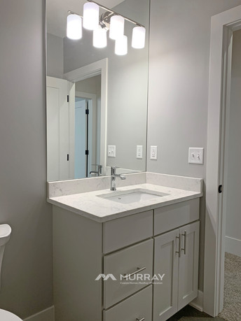 Murray Custom Home Builders Gallery SW Village Heights 6525 Basement Bath
