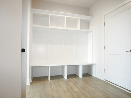Home Builders Advice For The Best Mudroom Locker Design