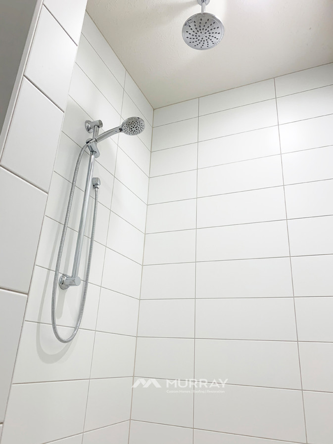 Murray Custom Home Builders Gallery SW Village Heights 6525 Master Bath Shower