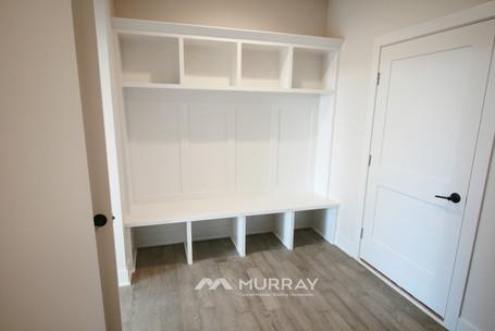 Murray Custom Home Builders Gallery SW Village Heights 6525 Mudroom