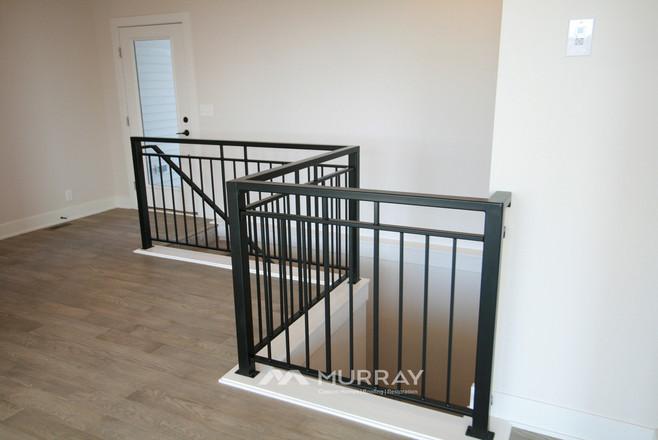 Murray Custom Home Builders Gallery SW Village Heights 6525 Stairwell Railing1