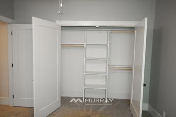 Murray Custom Home Builders Gallery SW Village Heights 6525 Basement Bed Closet