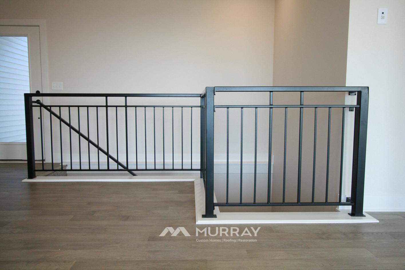 Murray Custom Home Builders Gallery SW Village Heights 6525 Stairwell Railling2