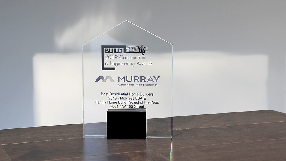 Build Magazine's Residential Home Builder of the Year 2019 Award