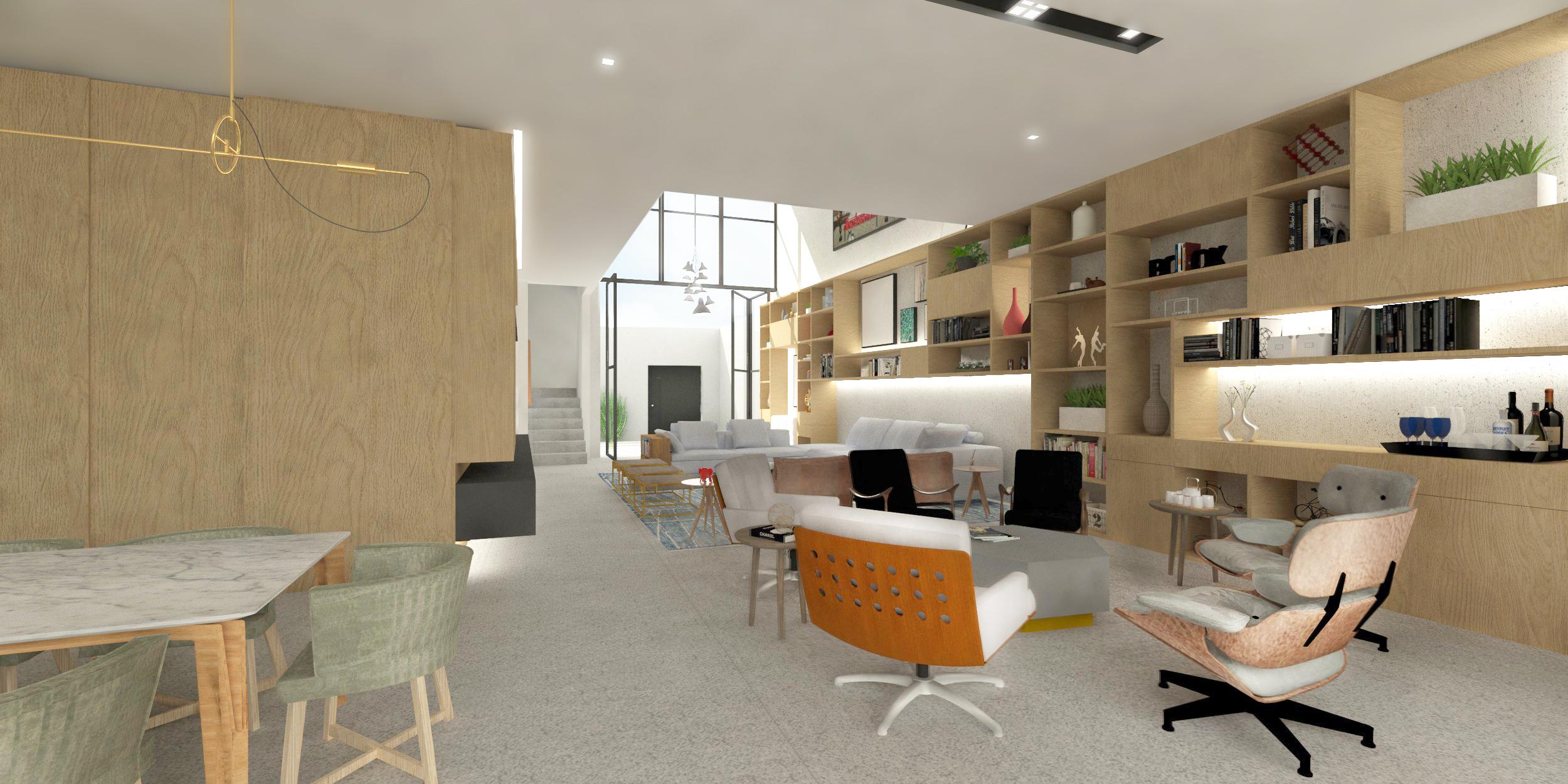 Projeto Interiores e Mobiliário