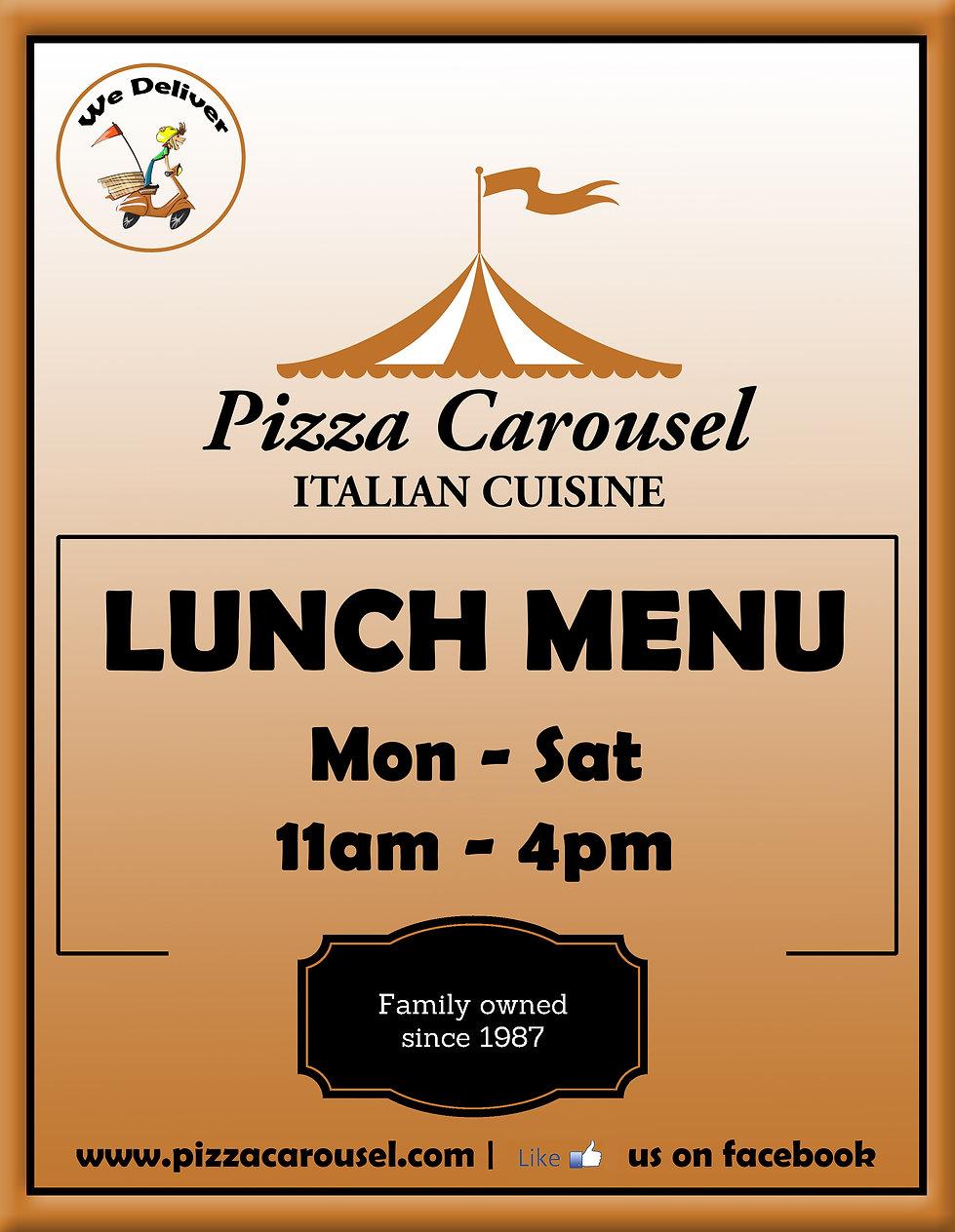 Pizza Carousel