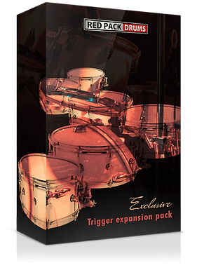 Red Pack Drums - 5 Boutique Snare drum collection