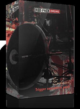 Red Pack Drums 5 KickTrigger Pack