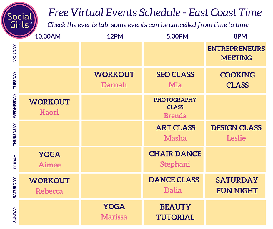 New Schedule April Social Girls.png