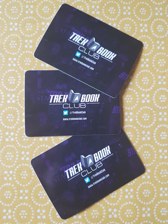 Trek Book Club stickers