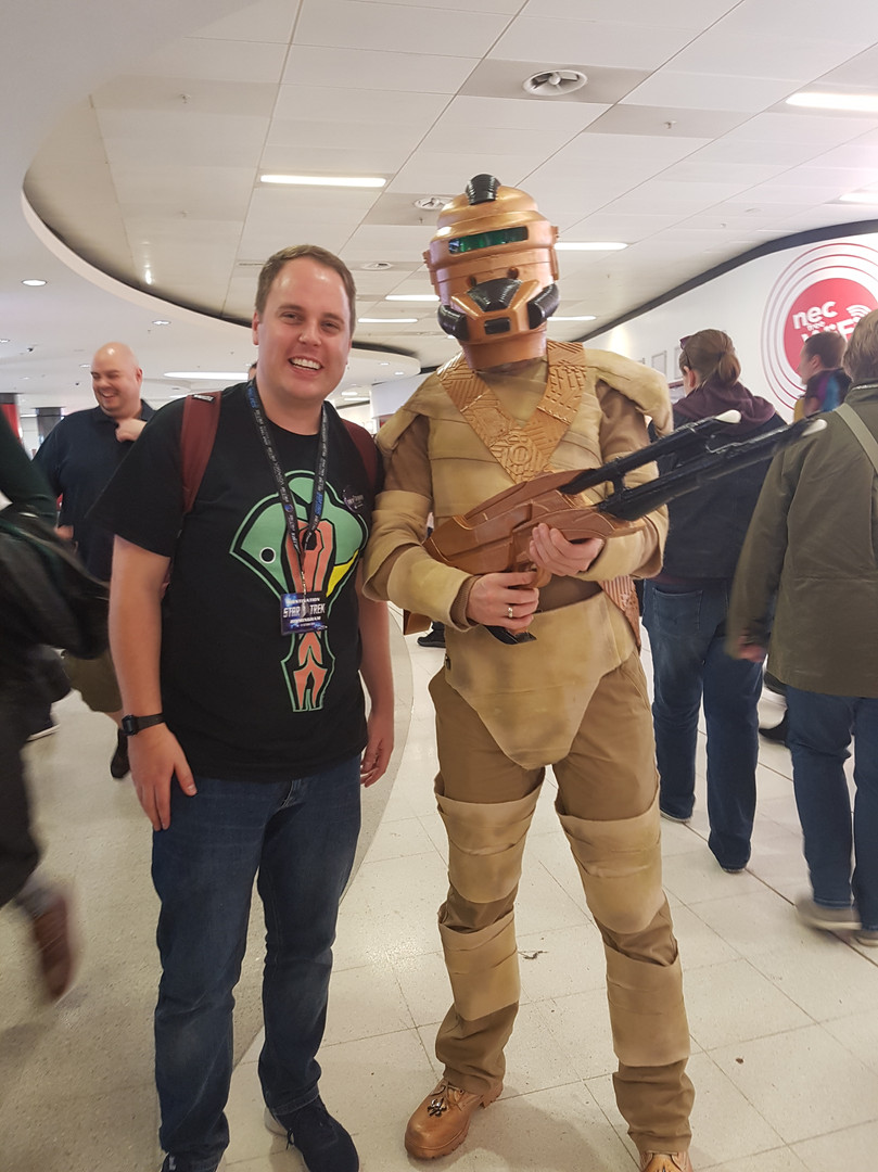 Rob meets the Breen at DST Birmingham 2018