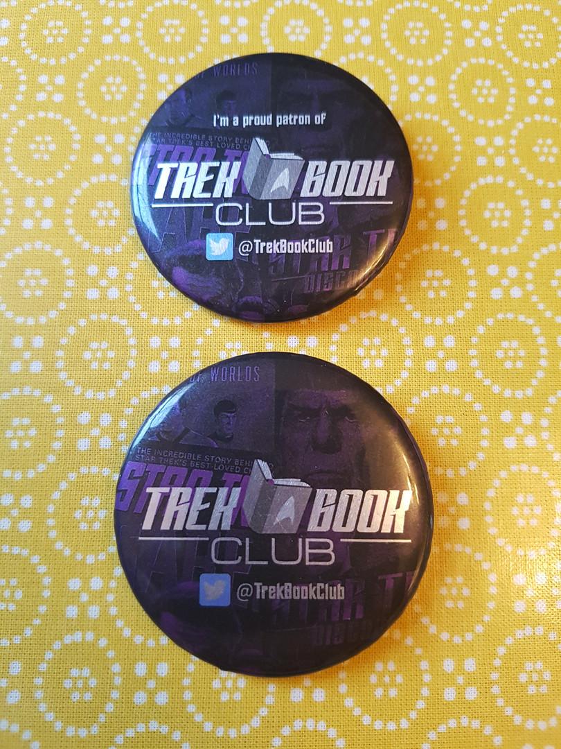 Trek Book Club badges