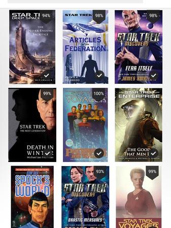 Trek Book Club patrons allow me to purchase the Star Trek books we read as part of Trek Book Club