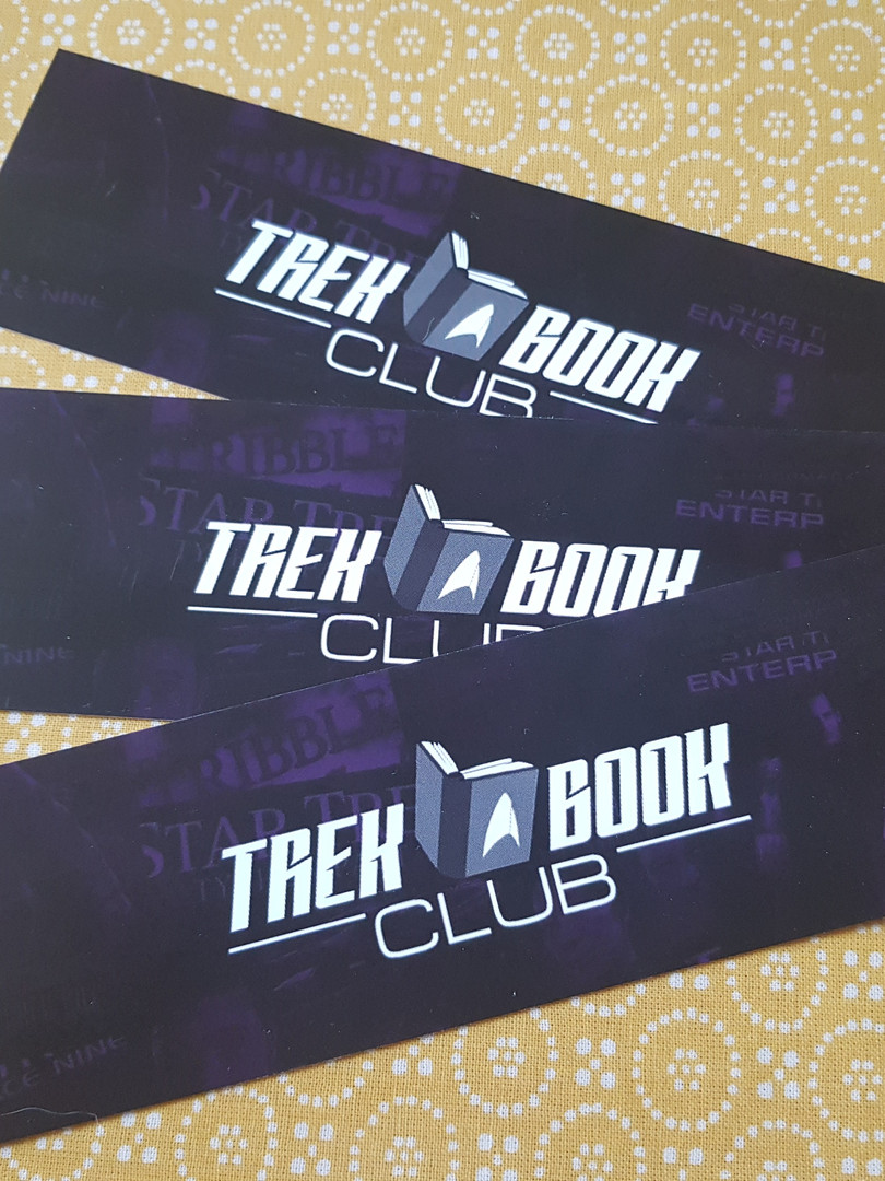 Trek Book Club bookmarks