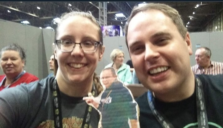 Rob meets Jill at DST 2018