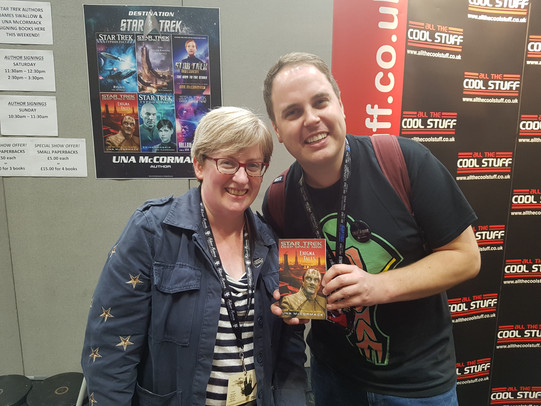 Rob meets Una McCormack at DST 2018