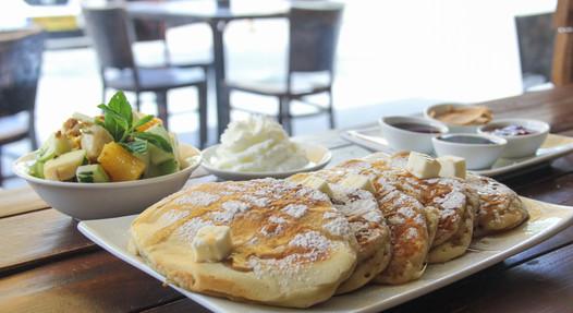 Sweet Pancakes Breakfast