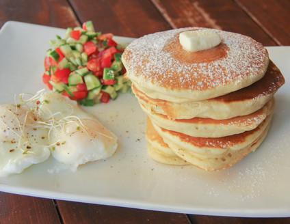 Savory Pancakes Breakfast