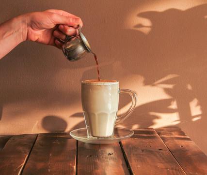 Chai Latte with Espresso
