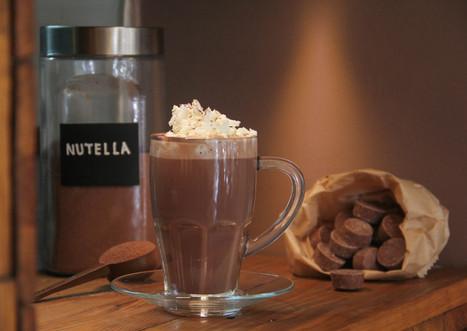 Nutella Style Hot Chocolate