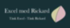Excel med Rickard
