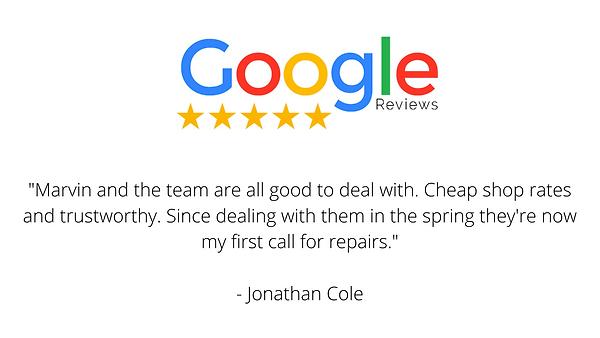 Repair and Maintenance Review Jonathan C