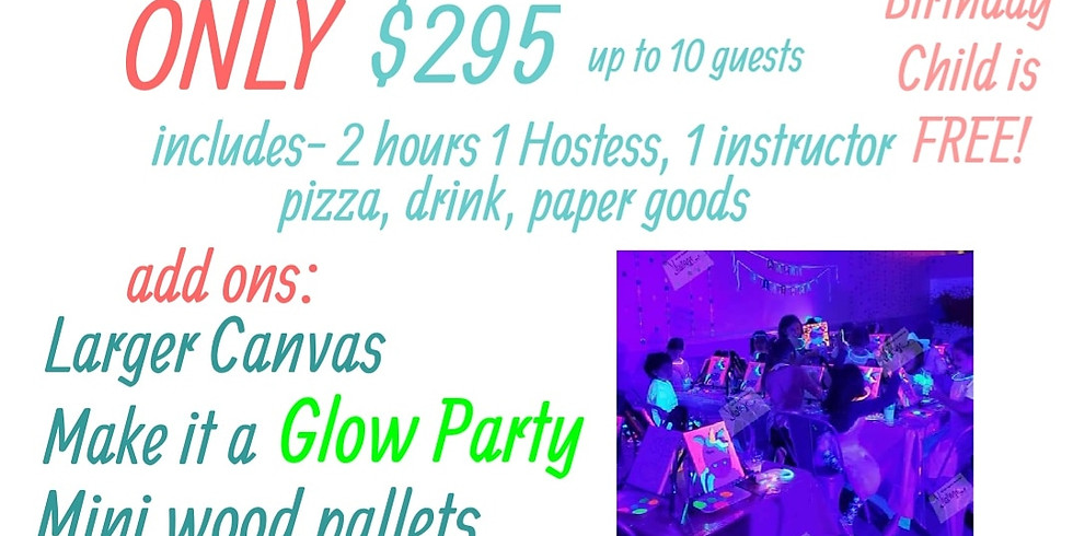 Book your next Birthday Party with us!