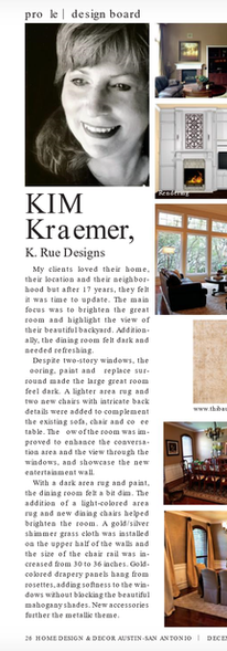 K. Rue Designs January 2019 Newsletter