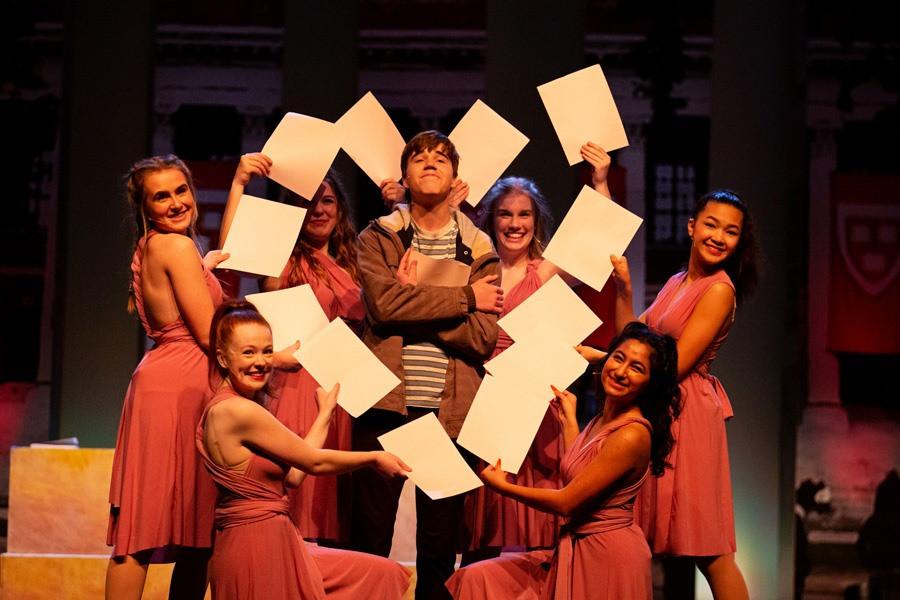 Emmett and the Greek Chorus Girls
