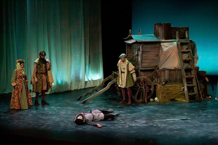 """""""Tybalt, there slain--"""""""