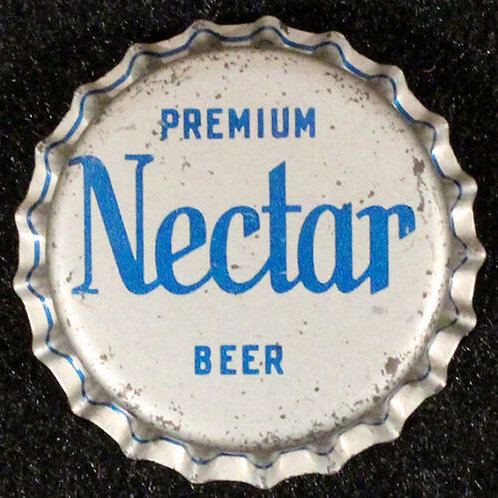 Nectar Premium Beer - Light Blue Text