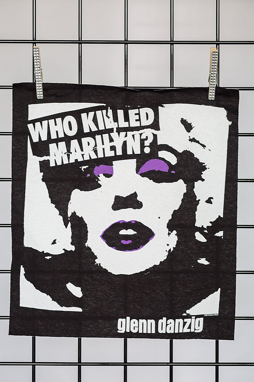 Danzig Who Killed Marilyn Patch