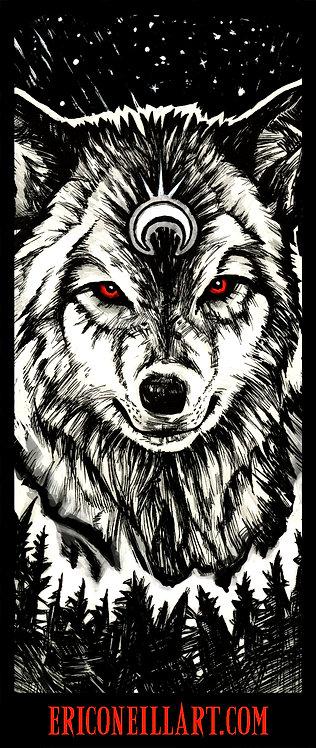 Wolf Spirit Sticker