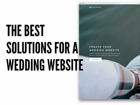 The Best Solutions for a Wedding Website
