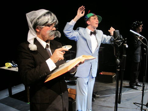 A Staged Radio Play