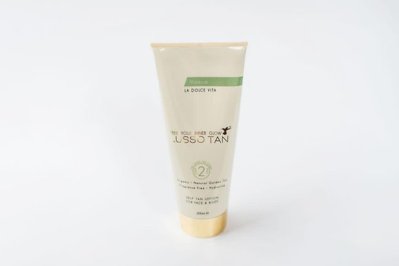 Lusso Self Tanning Lotion (Medium)