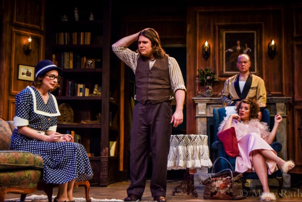 Kelly Martel as Alice, Bobby DiPasquale as Jack, Ashleigh Pedersen as Sorel and Bill Claussen as Edward