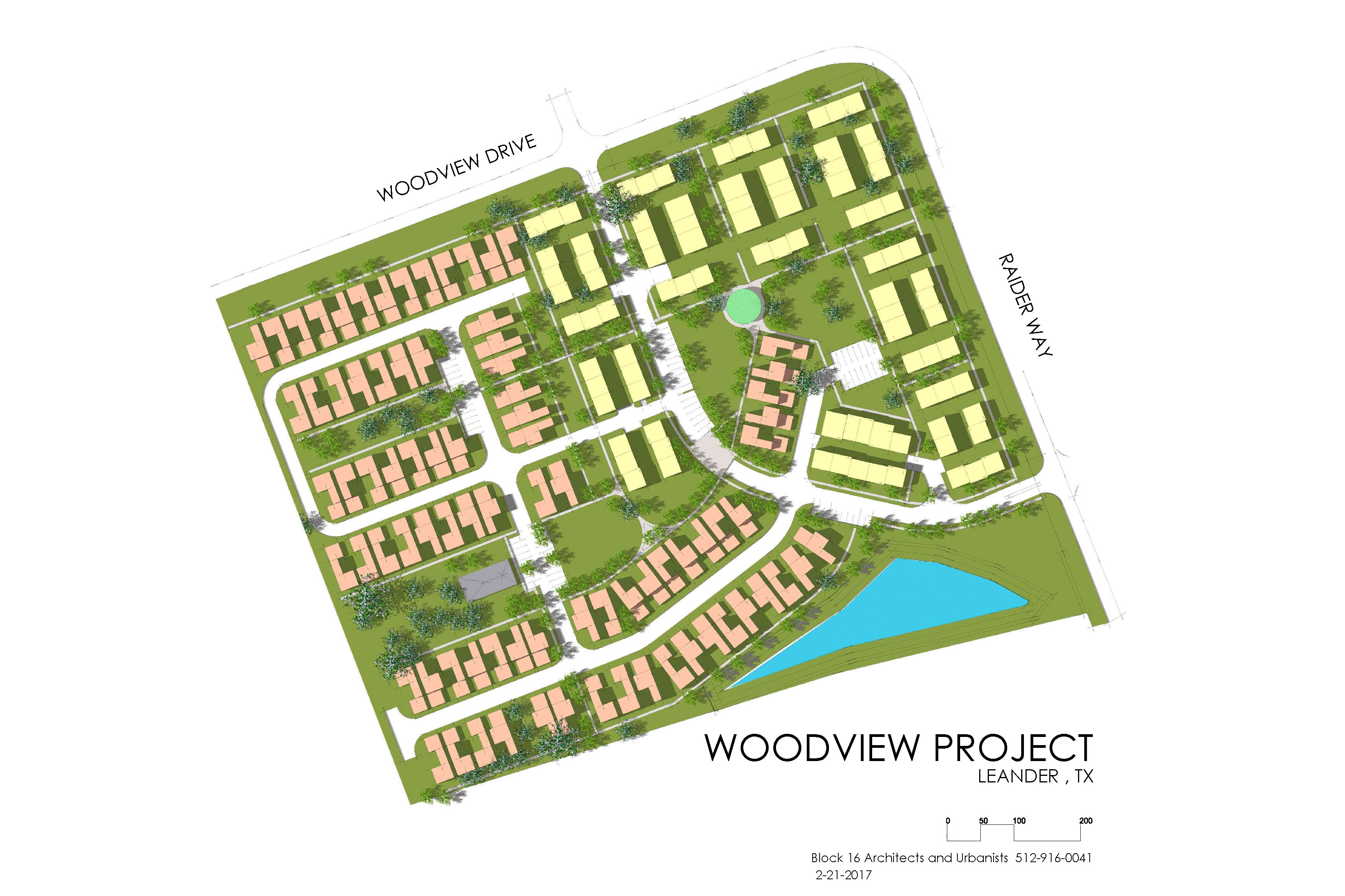 Woodview Site Plan
