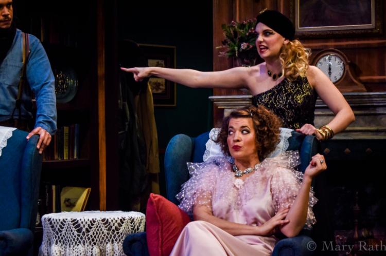 Ashleigh Pedersen as Sorel and Emma Brian as Victoria