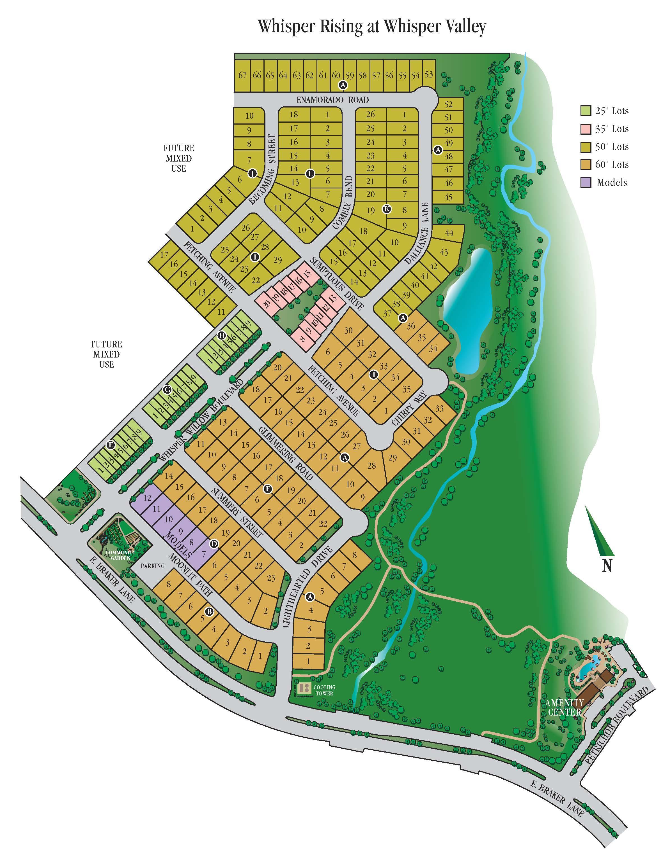 Whisper Valley Site Plan