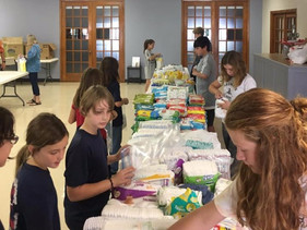 """Giving Back:  """"Baby Kits"""" for Harvey Evacuees"""