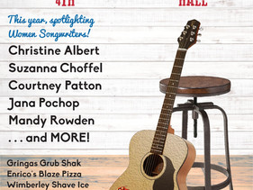3rd Annual Songwriters Festival