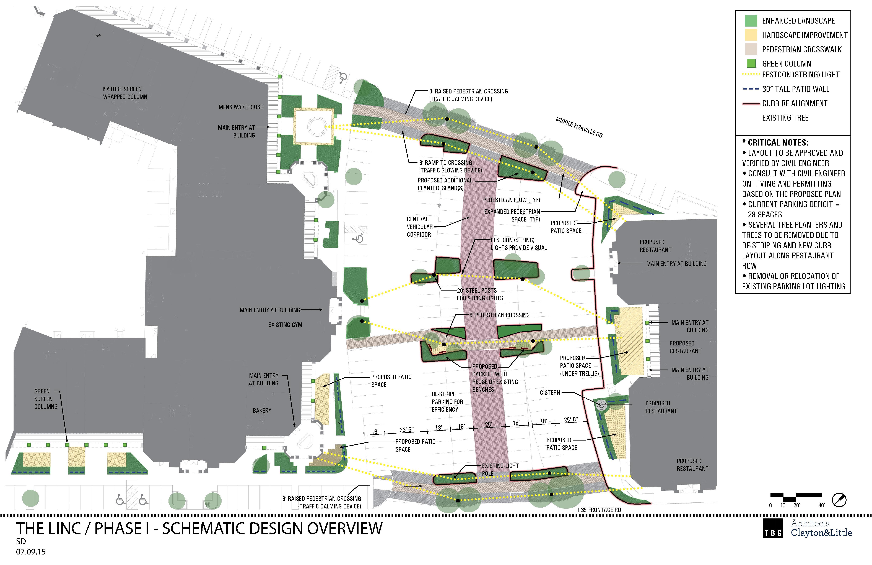 The Linc - Site Plan
