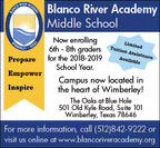It Takes a Vision and a Village: Growing Blanco River Academy Middle School