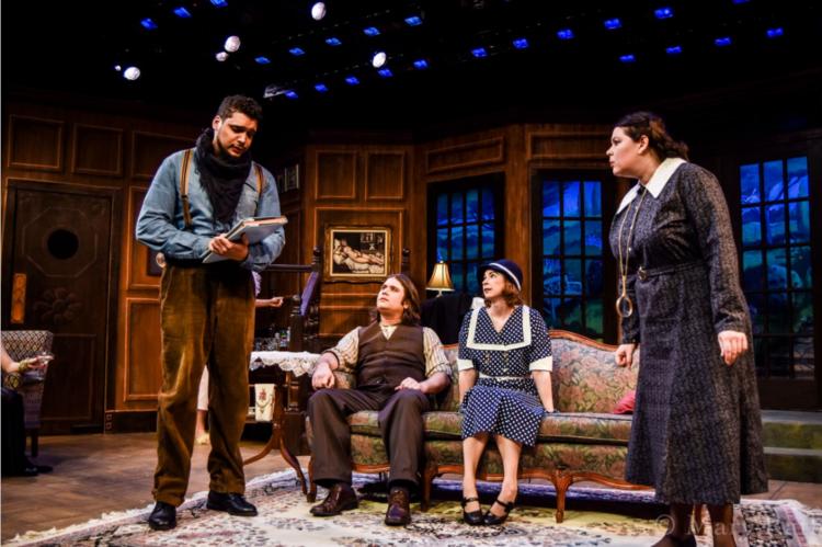 Manual Duran as Eric, Bobby DiPasquale as Jack,Kelly Martel as Alice and Celeste Coburn as Bridgit.