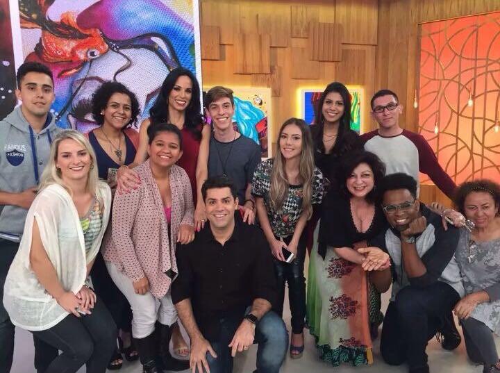 Gravações estúdios Globo