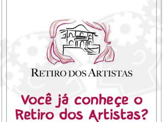 Você já conhece o Retiro dos Artistas?